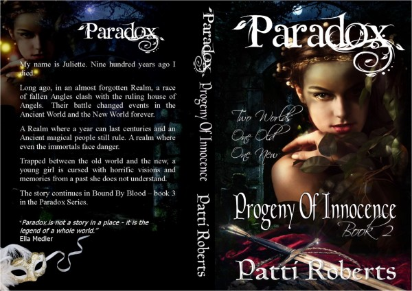 Paradox - Progeny of innocence book 2 wrap