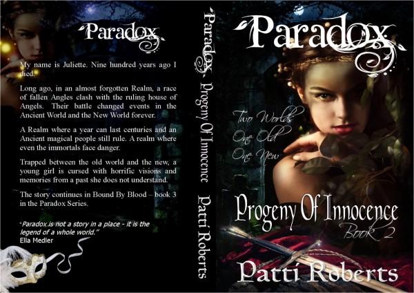 Paradox - Progeny of innocence book 2 wrap